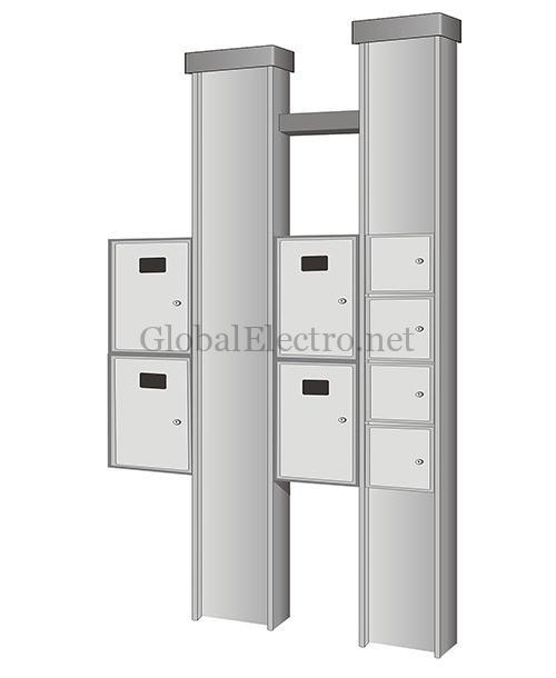 УЭРМ - Устройства этажные распределительные модульные