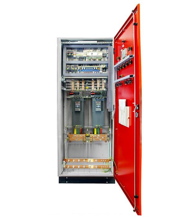 Шкаф пожаротушения - фото внутри